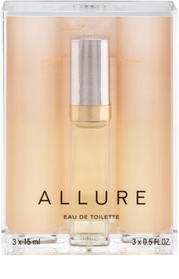 Chanel Allure Eau de Toilette pentru femei  (1x reincarcabil + 2x rezerva) 2