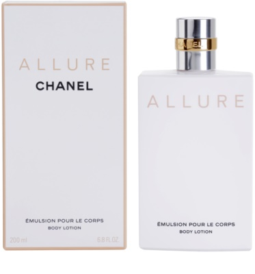 Chanel Allure leite corporal para mulheres
