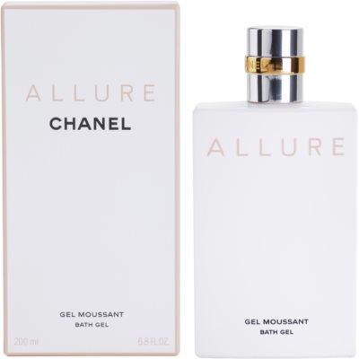 Chanel Allure sprchový gel pro ženy