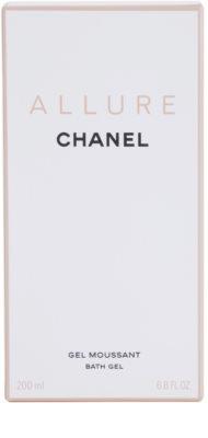 Chanel Allure gel de ducha para mujer 3