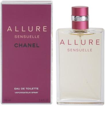 Chanel Allure Sensuelle Eau de Toilette para mulheres