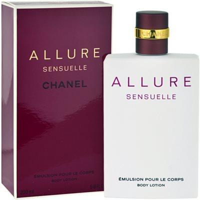 Chanel Allure Sensuelle молочко для тіла для жінок