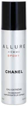 Chanel Allure Homme Sport Eau Extreme deodorant Spray para homens