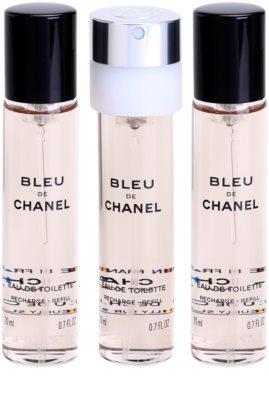 Chanel Bleu de Chanel Eau de Toilette para homens  recarga 1