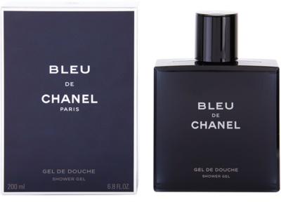 Chanel Bleu de Chanel tusfürdő férfiaknak
