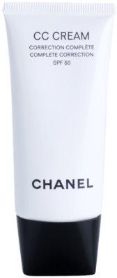 Chanel CC Cream вирівнюючий крем SPF 50