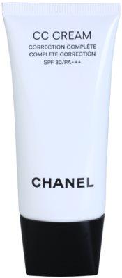 Chanel CC Cream вирівнюючий крем SPF 30
