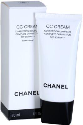 Chanel CC Cream bőrszín egységesítő krém SPF 30 1