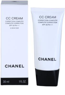 Chanel CC Cream bőrszín egységesítő krém SPF 30 2