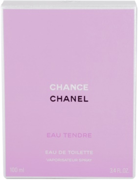 Chanel Chance Eau Tendre Eau de Toilette pentru femei 4
