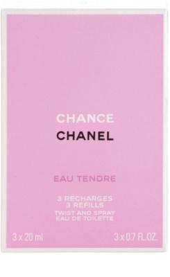 Chanel Chance Eau Tendre туалетна вода для жінок  (3 наповнення) 3