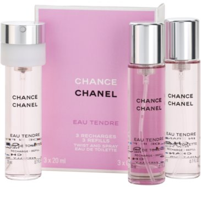 Chanel Chance Eau Tendre toaletní voda pro ženy  (3 x náplň) 1