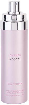 Chanel Chance Eau Tendre tělový sprej pro ženy 3