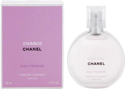 Chanel Chance Eau Tendre spray parfumat pentru par pentru femei
