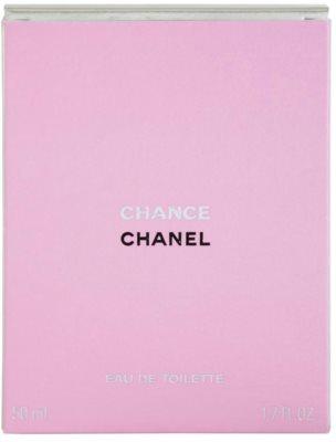 Chanel Chance Eau de Toilette für Damen  ohne Zerstäuber 4