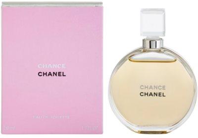 Chanel Chance Eau de Toilette für Damen  ohne Zerstäuber
