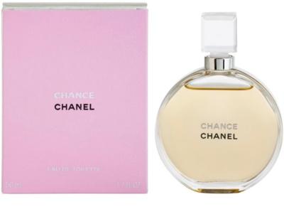 Chanel Chance toaletní voda pro ženy  bez rozprašovače