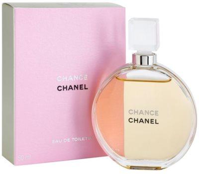 Chanel Chance Eau de Toilette für Damen  ohne Zerstäuber 1