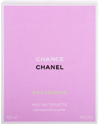 Chanel Chance Eau Fraiche eau de toilette para mujer 4