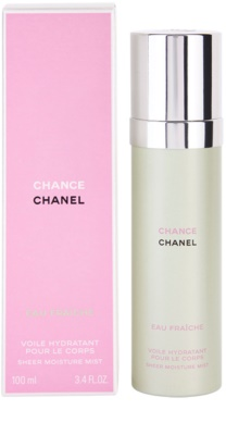 Chanel Chance Eau Fraiche telový sprej pre ženy