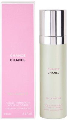 Chanel Chance Eau Fraiche tělový sprej pro ženy