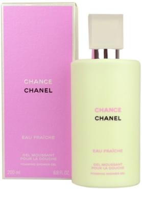 Chanel Chance Eau Fraiche gel de duche para mulheres