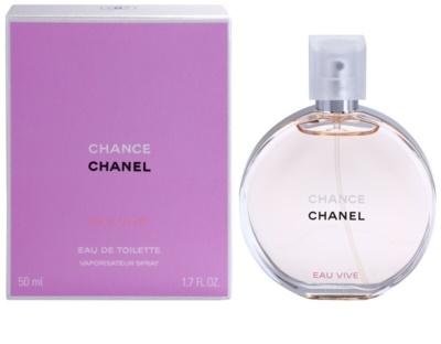 Chanel Chance Eau Vive eau de toilette nőknek