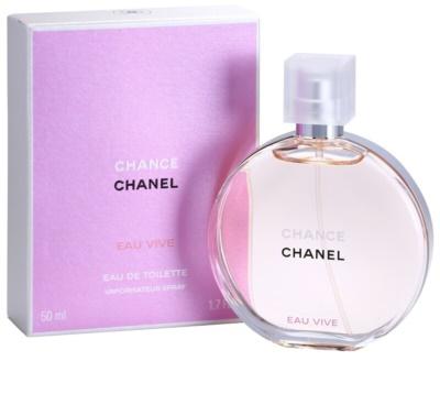Chanel Chance Eau Vive Eau de Toilette para mulheres 1