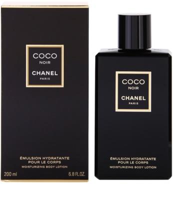 Chanel Coco Noir leite corporal para mulheres