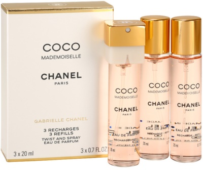 Chanel Coco Mademoiselle Eau De Parfum pentru femei  3 reincarcari 1