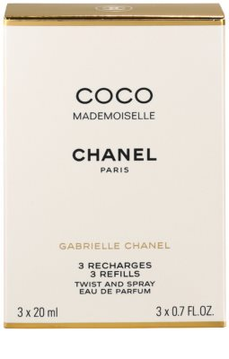 Chanel Coco Mademoiselle Eau De Parfum pentru femei  3 reincarcari 3