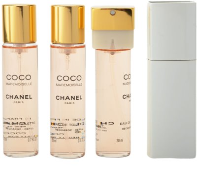 Chanel Coco Mademoiselle eau de toilette para mujer  (1x recargable + 2x recarga) 1