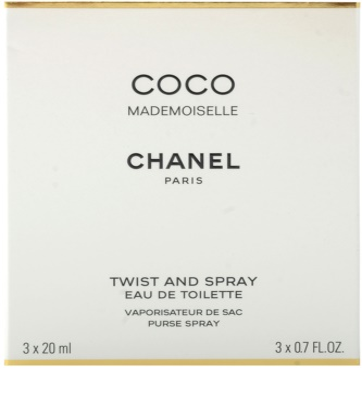 Chanel Coco Mademoiselle eau de toilette para mujer  (1x recargable + 2x recarga) 3