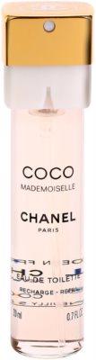 Chanel Coco Mademoiselle toaletní voda pro ženy  (3 x náplň) 1