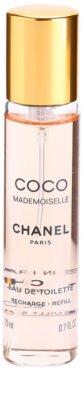 Chanel Coco Mademoiselle toaletní voda pro ženy  (3 x náplň) 2