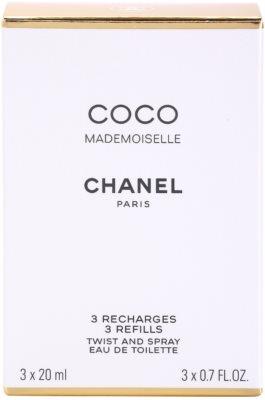 Chanel Coco Mademoiselle toaletní voda pro ženy  (3 x náplň) 3