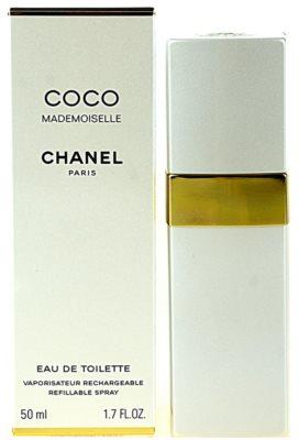 Chanel Coco Mademoiselle eau de toilette para mujer  recargable