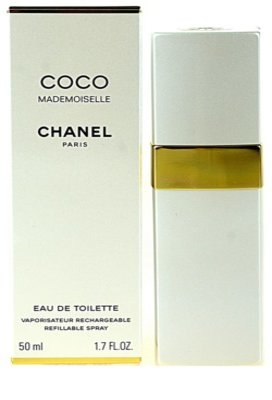 Chanel Coco Mademoiselle toaletní voda pro ženy  plnitelná