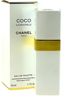 Chanel Coco Mademoiselle toaletní voda pro ženy  plnitelná 1