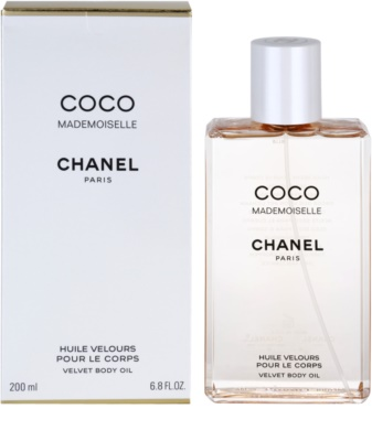 Chanel Coco Mademoiselle aceite corporal para mujer