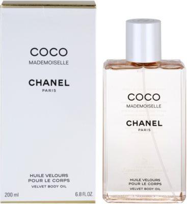 Chanel Coco Mademoiselle óleo corporal para mulheres