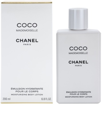Chanel Coco Mademoiselle leite corporal para mulheres
