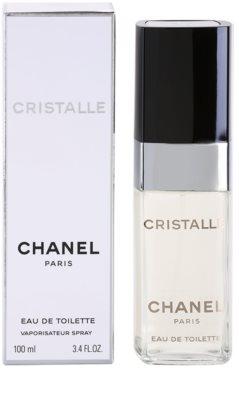 Chanel Cristalle Eau de Toilette para mulheres