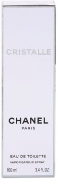 Chanel Cristalle Eau de Toilette für Damen 5