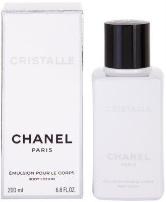 Chanel Cristalle tělové mléko pro ženy