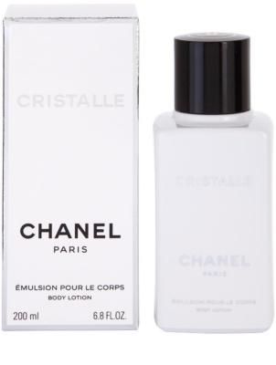Chanel Cristalle тоалетно мляко за тяло за жени