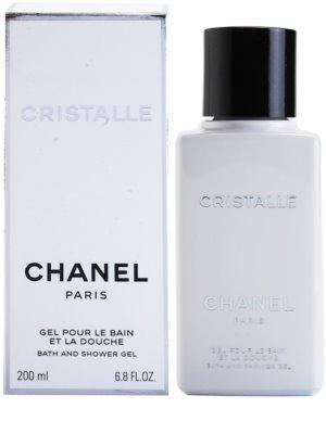 Chanel Cristalle gel de dus pentru femei