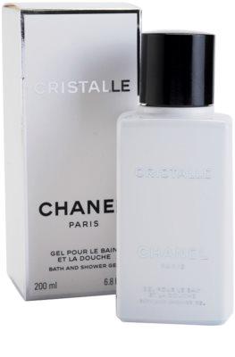Chanel Cristalle gel de dus pentru femei 1