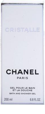 Chanel Cristalle gel de dus pentru femei 3