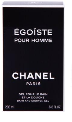 Chanel Egoiste gel de ducha para hombre 3